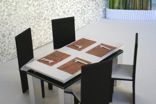 筷子手工制作大全图片桌子